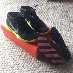 Nike flyknit chukka Olympic USA sneaker boots